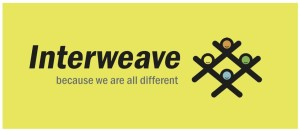 lnterweave logo with yellow bg