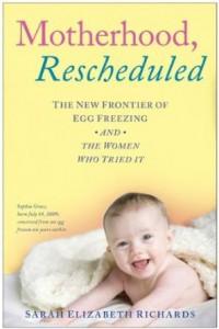 Book Cover - Motherhood, Rescheduled